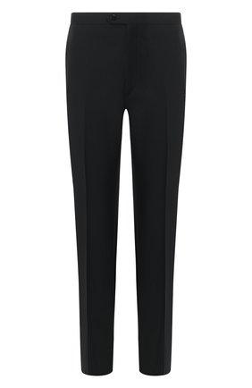 Мужской шерстяные брюки BRIONI черного цвета, арт. RQB20Z/0ZA15/THETA | Фото 1