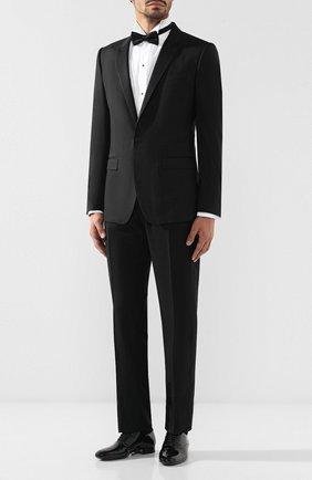 Мужской шерстяные брюки BRIONI черного цвета, арт. RQB20Z/0ZA15/THETA | Фото 2