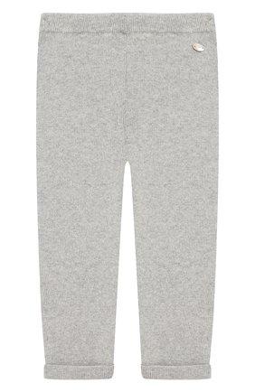 Детские брюки из смеси хлопка и кашемира TARTINE ET CHOCOLAT серого цвета, арт. TM22021/1M-18M | Фото 1 (Статус проверки: Проверено, Проверена категория; Материал внешний: Хлопок)