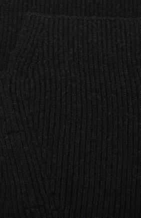 Воротник из шерсти асимметричного кроя Isabel Benenato черный | Фото №3