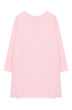 Хлопковая сорочка Sanetta розового цвета | Фото №1