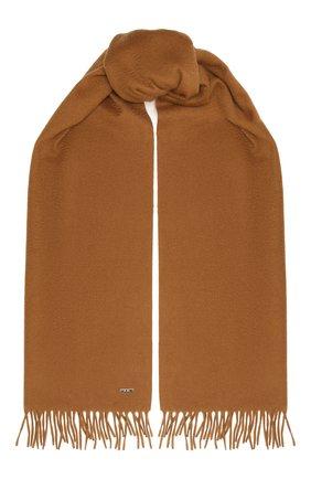 Мужской кашемировый шарф LORO PIANA светло-коричневого цвета, арт. FAB9149 | Фото 1
