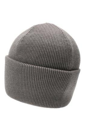 Мужская шерстяная шапка CANADA GOOSE серого цвета, арт. 6936M | Фото 2
