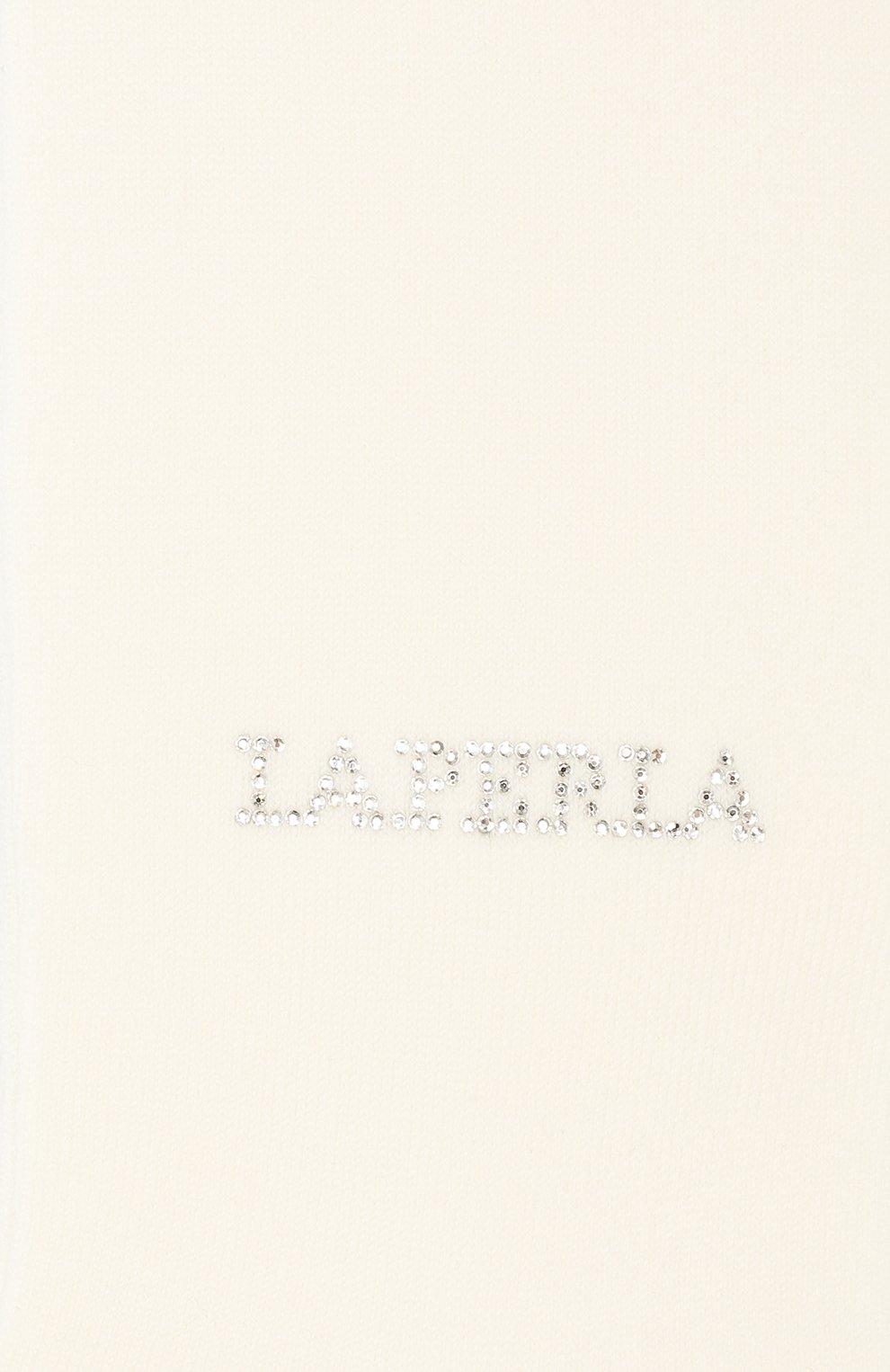 Детские шерстяные колготки LA PERLA бежевого цвета, арт. 47012H/7-8   Фото 2