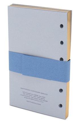 Мужской сменный блок для органайзера SMYTHSON голубого цвета, арт. 1021372 | Фото 2