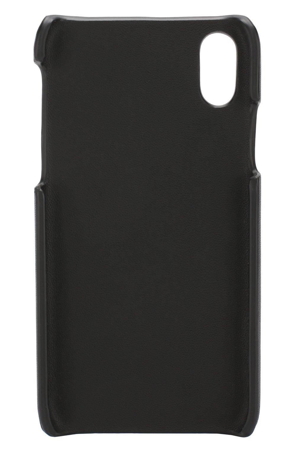 Кожаный чехол для iPhone X Bottega Veneta  | Фото №2