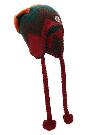 Шерстяная шапка-ушанка Moncler 1952 | Фото №1