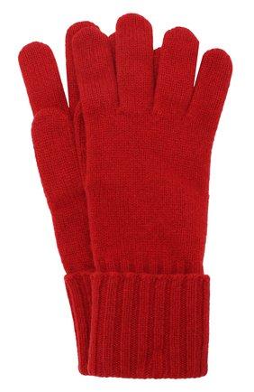 Вязаные перчатки из смеси шерсти и кашемира | Фото №1