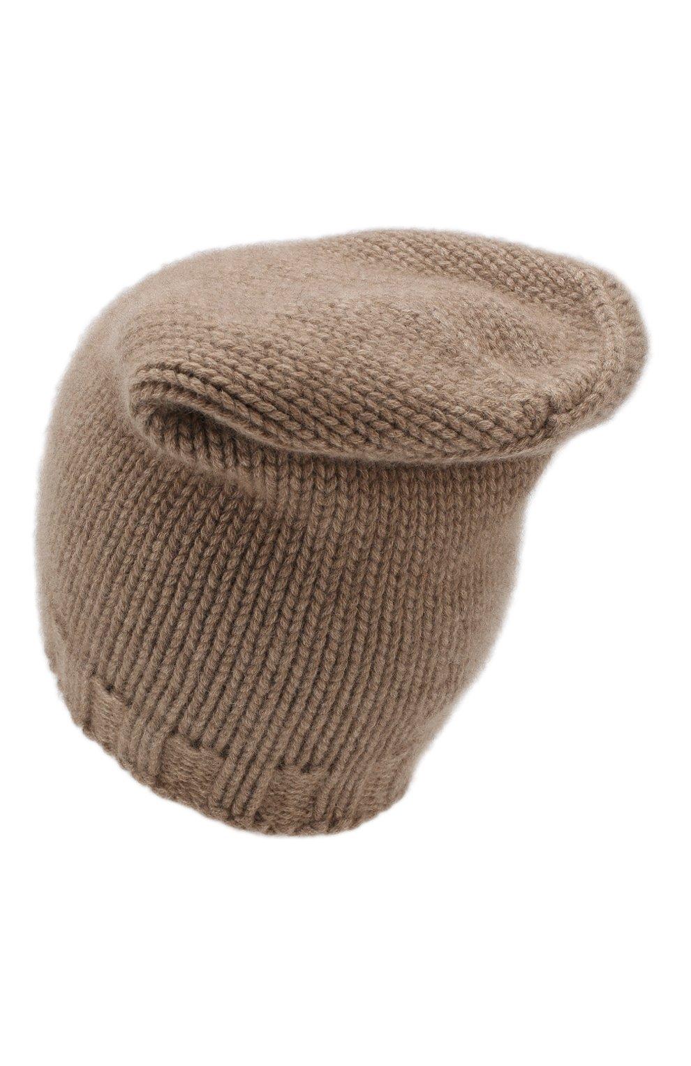 Вязаная шапка из кашемира | Фото №2