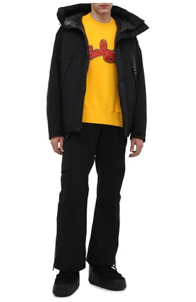 Мужские замшевые сапоги INUIKII черного цвета, арт. 50101-1 | Фото 2