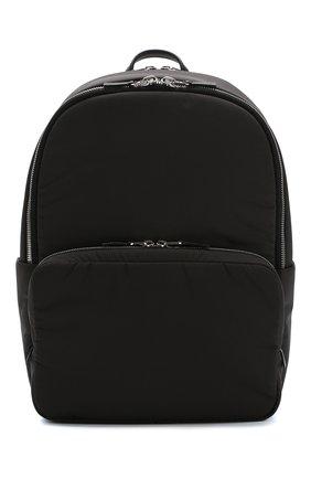 Текстильный рюкзак Voyager City с кожаной отделкой   Фото №1