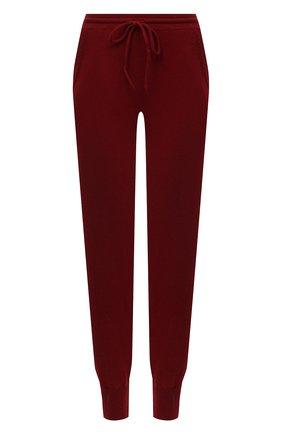 Женские кашемировые джоггеры с эластичным поясом ADDICTED красного цвета, арт. MK697   Фото 1