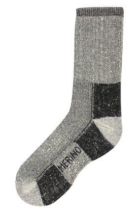 Шерстяные носки Norveg серые | Фото №1