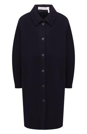 Однотонное шерстяное пальто | Фото №1