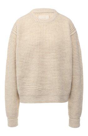 Вязаный пуловер со спущенным рукавом | Фото №1
