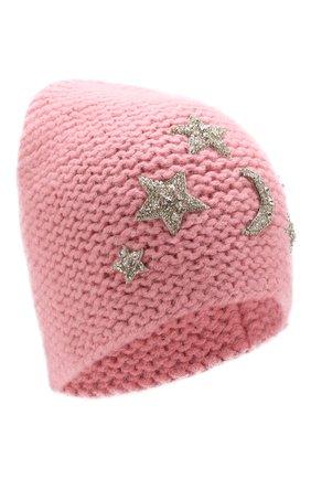 Шерстяная шапка с декоративной отделкой | Фото №1