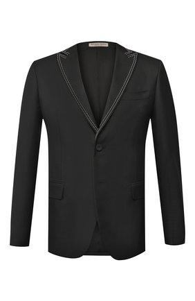 Однобортный пиджак из смеси шерсти и вискозы | Фото №1