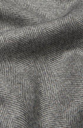 Шарф из смеси шелка и кашемира с бахромой | Фото №2