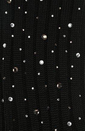 Детские гольфы из смеси шерсти и шелка La Perla черного цвета | Фото №2