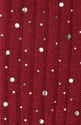 Детские гольфы из смеси шерсти и шелка LA PERLA бордового цвета, арт. 48860/4-6 | Фото 2
