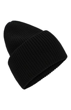 Мужская шерстяная шапка  INVERNI черного цвета, арт. 4220CM | Фото 1