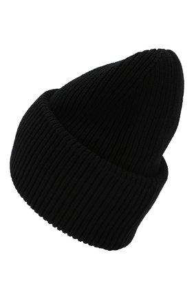 Мужская шерстяная шапка  INVERNI черного цвета, арт. 4220CM | Фото 2