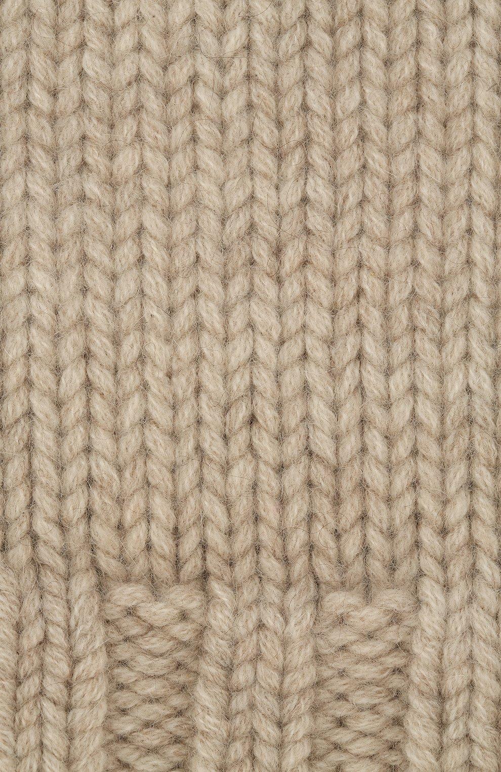 Вязаная шапка из кашемира | Фото №3