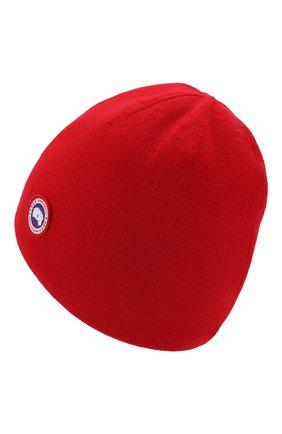 Мужская шерстяная шапка  CANADA GOOSE красного цвета, арт. 5116M | Фото 2