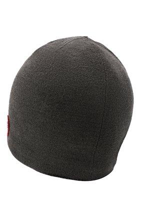 Мужская шерстяная шапка  CANADA GOOSE серого цвета, арт. 5116M | Фото 2