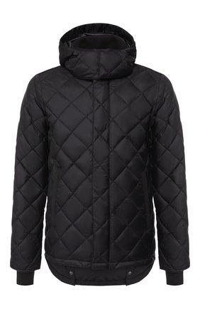 Мужская пуховая куртка hendriksen на молнии с капюшоном CANADA GOOSE черного цвета, арт. 3205MB | Фото 1