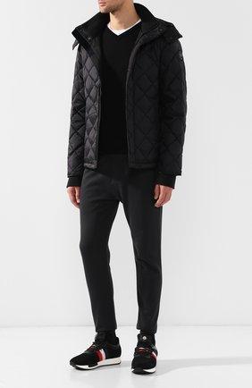 Мужская пуховая куртка hendriksen на молнии с капюшоном CANADA GOOSE черного цвета, арт. 3205MB | Фото 2
