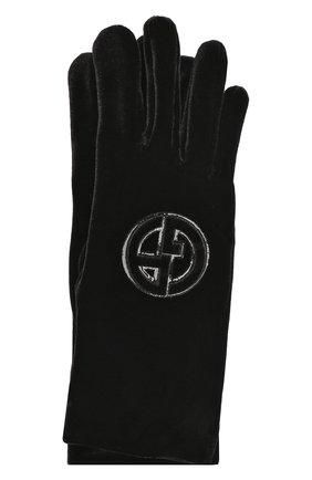 Текстильные перчатки с логотипом бренда | Фото №1