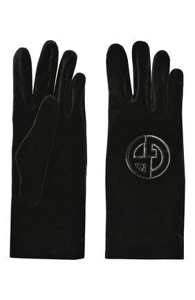 Текстильные перчатки с логотипом бренда | Фото №2