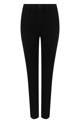 Женские укороченные джинсы прямого кроя 3X1 черного цвета, арт. W4XS40966/KUR0 | Фото 1