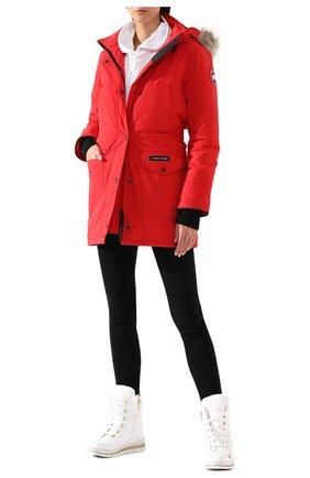 Женская парка trillium CANADA GOOSE красного цвета, арт. 6660L | Фото 2