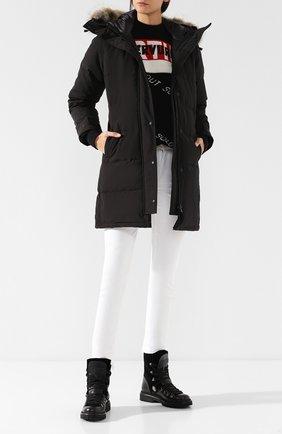 Женский пуховик shelburne CANADA GOOSE черного цвета, арт. 3802LB | Фото 2