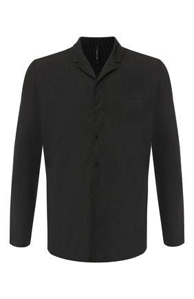 Рубашка из смеси хлопка и вискозы с шерстью   Фото №1