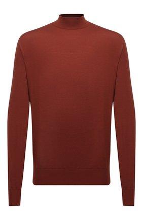 Мужской шерстяной джемпер BRIONI бордового цвета, арт. UMU70L/0ZK18 | Фото 1