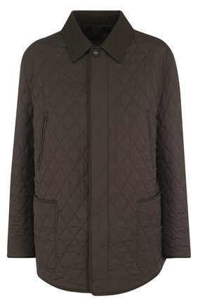 Двусторонняя куртка из смеси шерсти и шелка | Фото №1