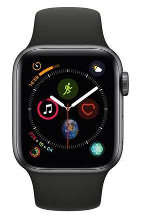 Смарт-часы Apple Watch Series 4 (GPS) 40mm Space Gray Aluminium Case with Black Sport Band | Фото №2