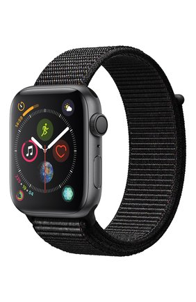 Смарт-часы Apple Watch Series 4 (GPS) 44mm Space Gray Aluminium Case with Black Sport Loop | Фото №1