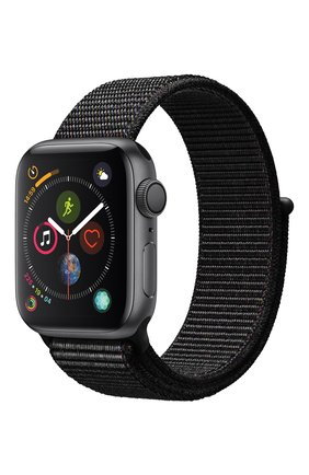 Смарт-часы Apple Watch Series 4 (GPS) 40mm Space Gray Aluminium Case with Black Sport Loop | Фото №1