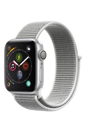 Apple Watch Series 4 (GPS) 40mm Silver Aluminium Case with Seashell Sport Loop | Фото №1