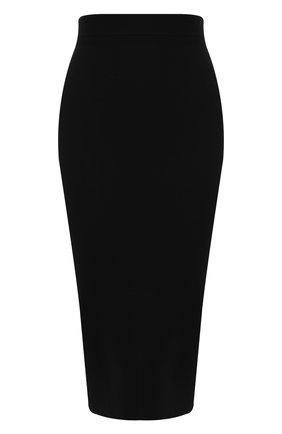 Шерстяная юбка с эластичным поясом | Фото №1