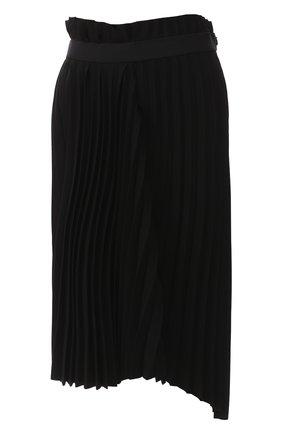 Женская плиссированная юбка BALENCIAGA черного цвета, арт. 529757/TYD15 | Фото 1