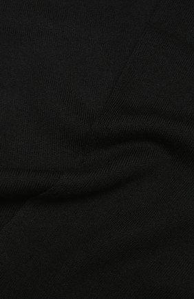 Мужской шерстяной шарф civil CANOE черного цвета, арт. 4805810 | Фото 2