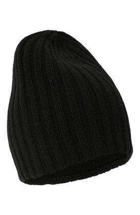 Мужская шерстяная шапка soft CANOE черного цвета, арт. 4714110 | Фото 1