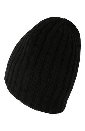 Мужская шерстяная шапка soft CANOE черного цвета, арт. 4714110 | Фото 2