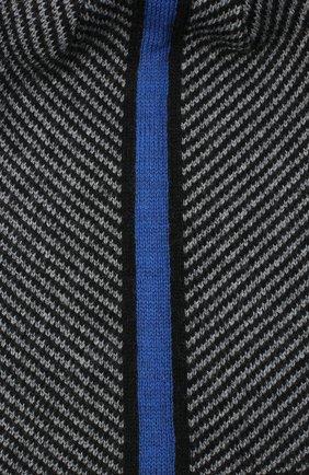 Мужская шерстяная шапка CANOE серого цвета, арт. 3441996 | Фото 3 (Материал: Шерсть; Кросс-КТ: Трикотаж; Статус проверки: Проверено, Проверена категория)