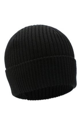 Мужская шерстяная шапка agent CANOE черного цвета, арт. 3449161 | Фото 1